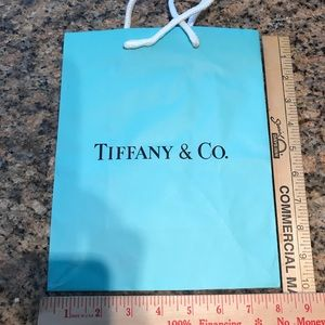 Tiffany & Co. gift bag